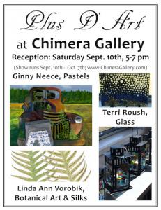 Ginny Participates In Upcoming Chimera Show